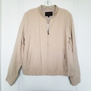 Banana Republic NWT | Oxford Tan Bomber Jacket